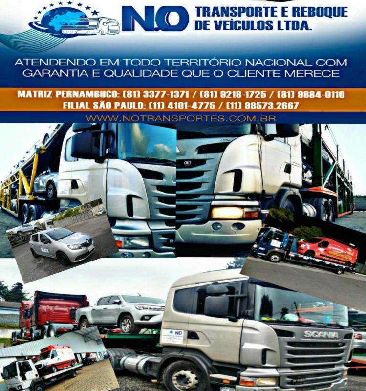 Transportadora de veículos nacional