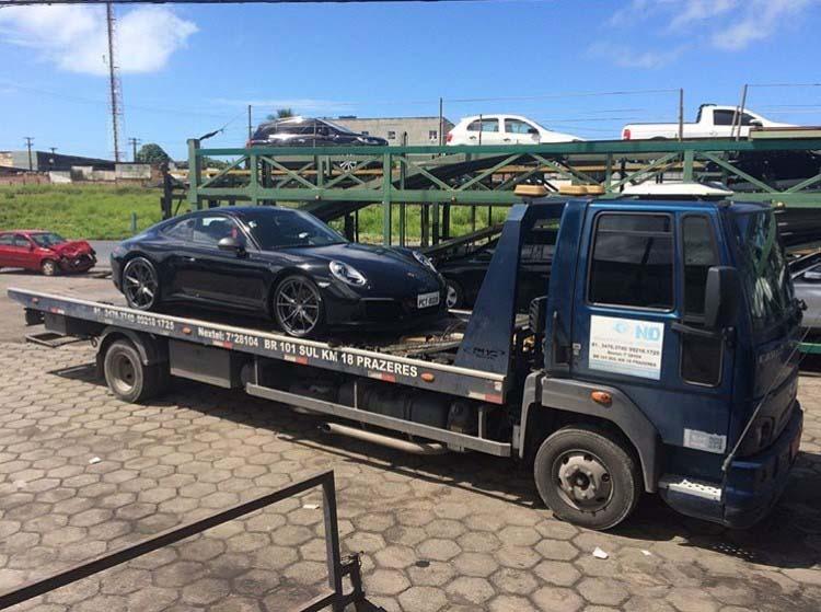 Transporte de carros importados