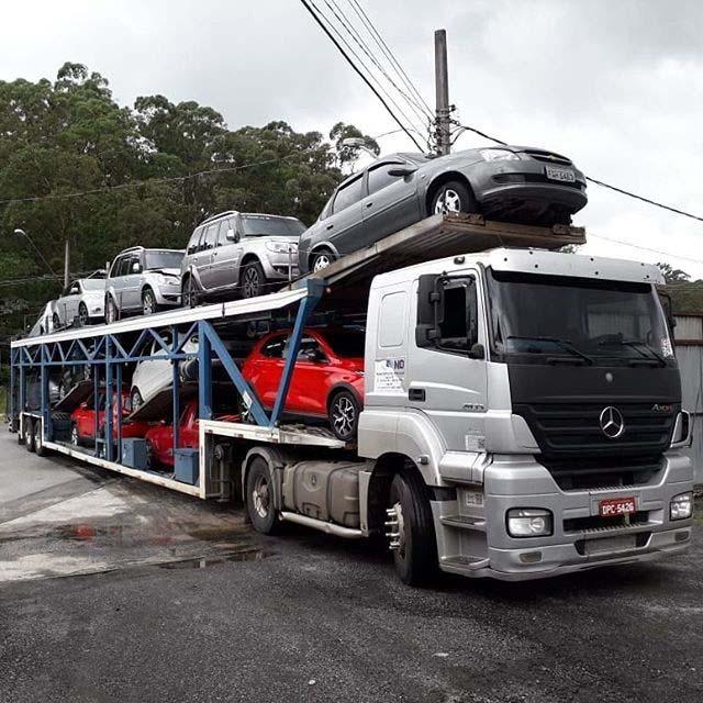 Transporte de carros preço