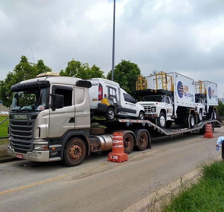 Transporte de veículos pesados