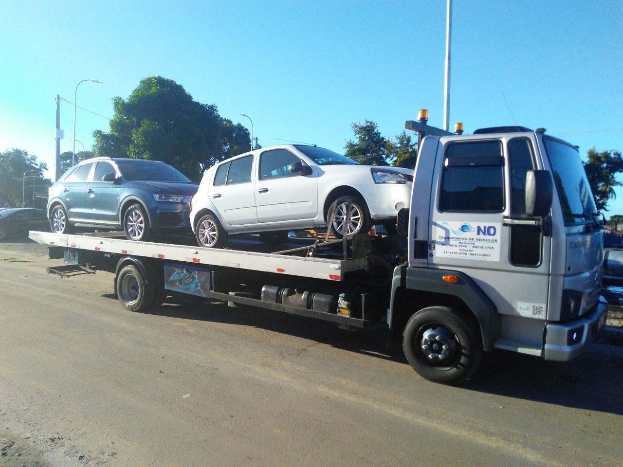 Transporte de veículos preço