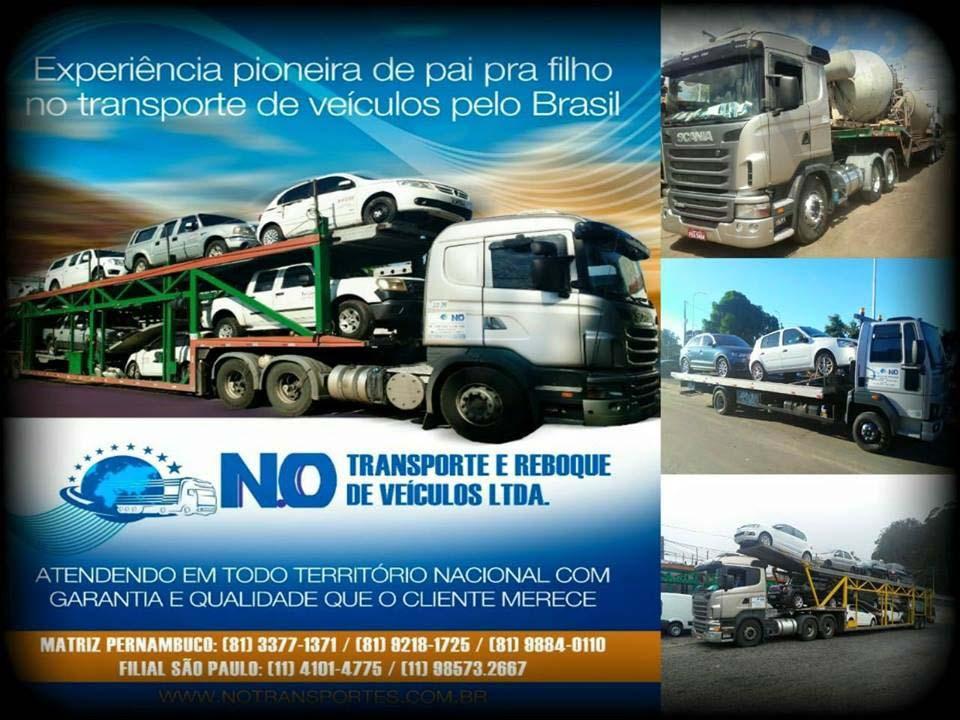 Transporte de veículos para todo o Brasil