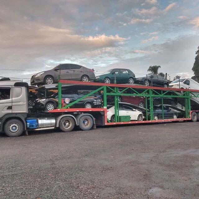 Transporte de veículos valor