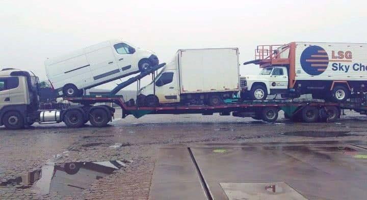 Valor para transporte de veículos