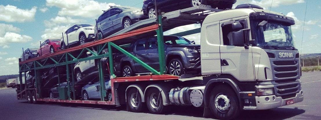 Locação de caminhão cegonha